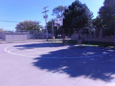 Weyrich Basketball Court