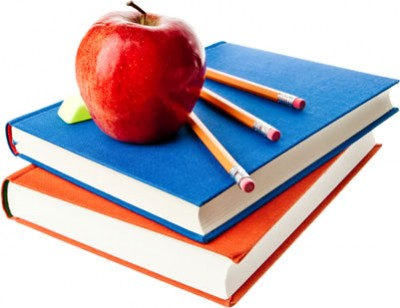 education books and apple