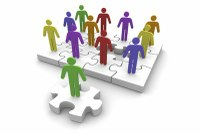 clipart of people on puzzle pieces