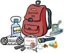 survival kit clipart