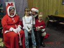 Pictures with Santa at Christmas Fantasy