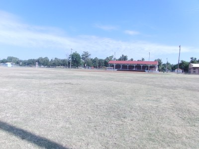 Large Baseball Field Before Shot and Grandstands (Field currently being renovated))