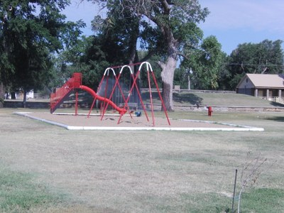 New Swings and Slide at South (Pioneer) Park